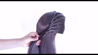 new easy and simple hairstyle for girls || hair style girl || hairstyle for girls || cute hairstyles