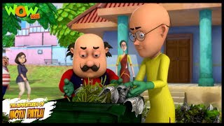Motu Patlu New Episode | Hindi Cartoons For Kids | Safayee Abhiyan | Wow Kidz