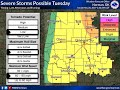 Tuesday Severe Weather Update - May 28, 2019