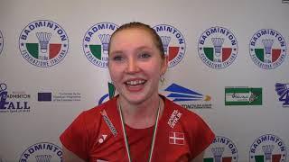 18° Yonex Italian international Finals: Julie Dawall Jakobsen