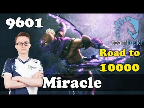 Miracle Anti Mage ROAD to 10k | 9601 MMR Dota 2