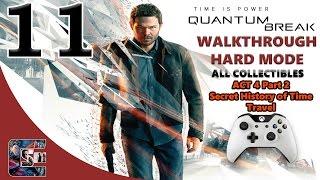 "Quantum Break Walkthrough - HARD - All Collectibles ACT 4 Part 2 ""Secret History of Time Travel"""