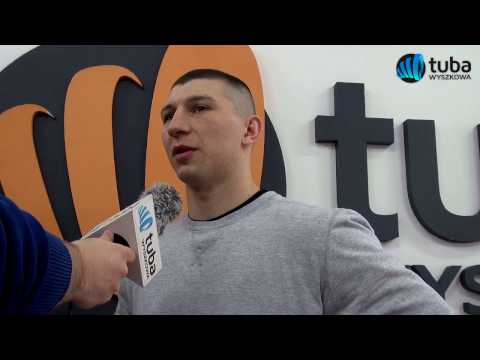 Mateusz Tryc po debiucie na zawodowym ringu