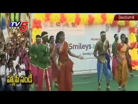 Happy Sunday Entertainment Program At Bandar Road | Vijayawada | Telugu News | TV5 News