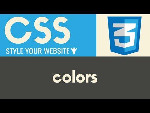 Download  Colors | CSS | Tutorial 3 Gratis, download lagu terbaru