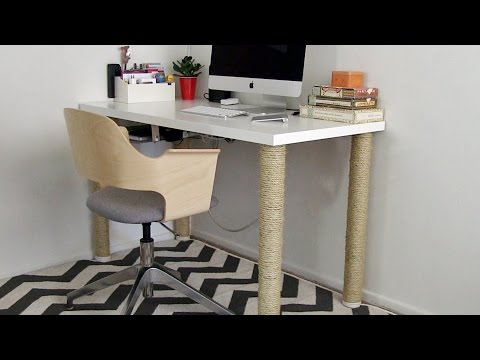 Home Office Ideas - IKEA desk hack and more: Season 2, Ep 9 part 1