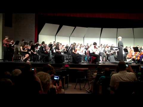 Marcus High School Orchestra With Alumni 5 28 13