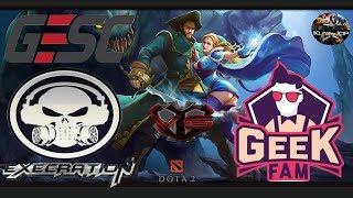 [DOTA 2 PH LIVE]  Execration VS Geek Fam|Bo3| GESC E-Series: Jakarta|KUYA JOP CASTER
