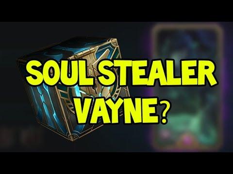 SOUL STEALER VAYNE? HEXTECH OPENING - League of Legends #1