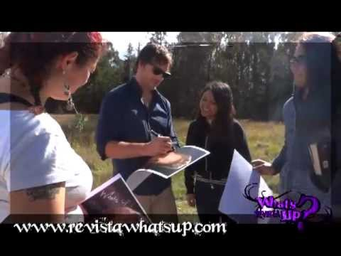 VISITA PETER FACINELLI - COLOMBIA  -  4 OCT 2012 - Video Blog Revista What´s Up