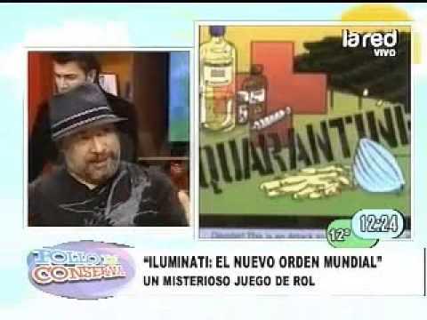 SALFATE JUEGOS MALDITOS Origen juego Iluminati el nuevo orden mundial PARTE 1 360p