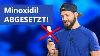 Minoxidil wird abgesetzt   Das Minoxidil Experiment Woche 115