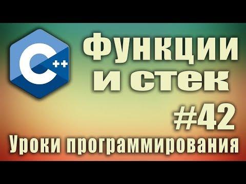 Функции и стек. Стек алгоритм. Стек что это. Стек рекурсии. Стек c++.  Стек рекурсивных вызовов #42