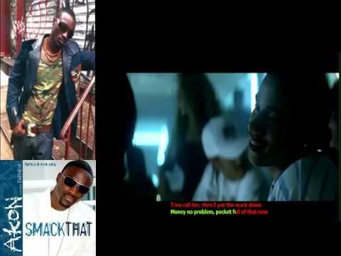 Akon - Smack That KARAOKE VERSION