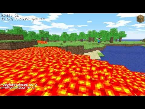 Minecraft - Lava Flood of Doooooom