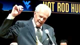 Hot Rod Hundley's jersey retirement, Jan. 23, 2010
