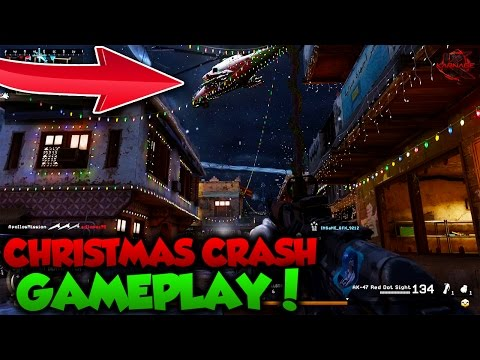 "NEW ""CHRISTMAS CRASH"" GAMEPLAY in MODERN WARFARE REMASTERED! (COD MWR NEW MAP)"