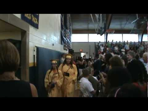 North Muskegon High School Band - March Processional (Graduation 2012)