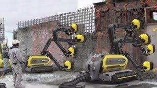 latest smart Automatic  Construction Building fastest work Modern Techniques Automatic machines