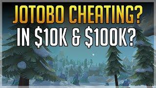 Jotobo Cheating During $10,000 & $100,000 Tournament?