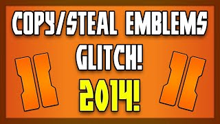 """How To """"Copy Emblems"""" Glitch - BO2! """"Black Ops 2"""" Working October 2014! (""""BO2 Glitches"""")"""