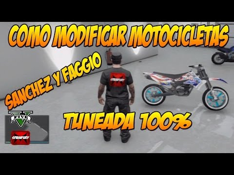 TRUCO GTA V ONLINE 1.09: Como modificar motocicletas Sanchez y Faggio - Glitch modificar vehiculos