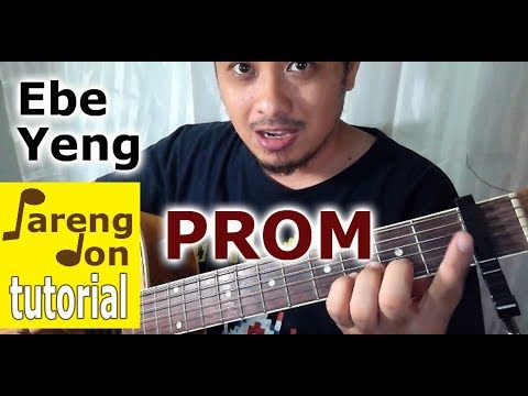 PROM Chords (Guitar Tutorial) Ebe and Yeng cover - Sugarfree OPM Song