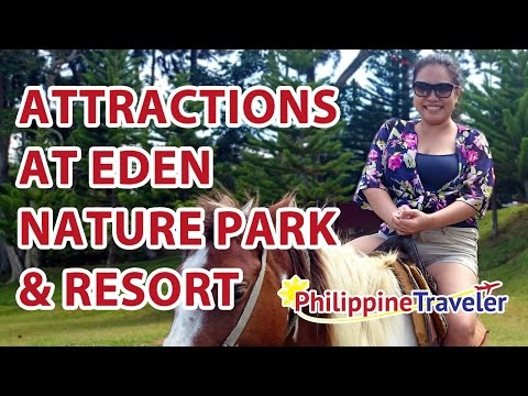 Attractions at Eden Nature Park & Resort - Davao Hotel Reviews