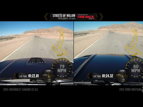Head to Head: 2015 Camaro SS 1LE vs. 2015 Mustang GT 5.0 PP
