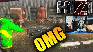 GIRLFIREND OPENS 30 MERCENARY CRATES! H1Z1 Hunting For Patriotic AR Ultra Rare Skin! (Crate Opening)