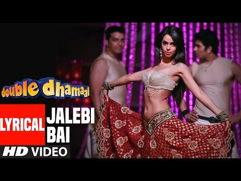 Lyrical Video: Jalebi Bai | Double Dhamaal  | Feat. Mallika Sherawat
