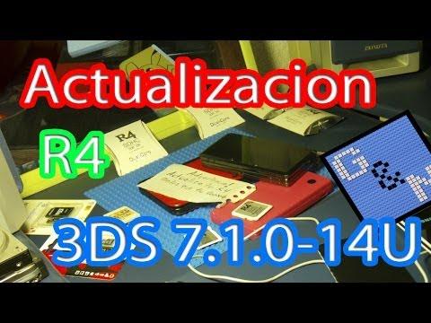 Actualizar R4 Nintendo 3DS Ver. 7.1.0-14U