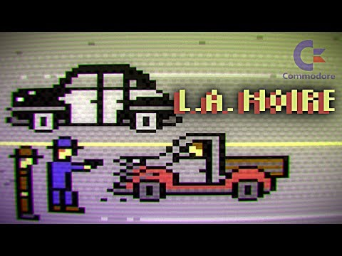 L.A. Noire (Commodore 64) - Solving the Silk Stocking Murder