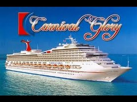 Carnival Cruise Ship Glory  Tour Of Pool Deck  YouTube