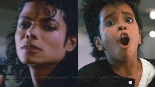 Michael Jackson - Bad (Official Video) vs