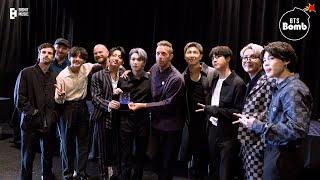 Download lagu [BANGTAN BOMB] Meeting with Coldplay - BTS (방탄소년단)
