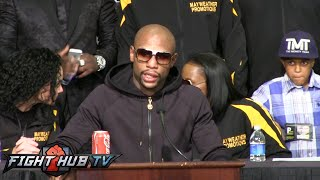 Floyd Mayweather vs. Marcos Maidana 2 : Post fight press conference video Full - Uncut -