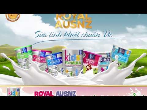 Sữa hoàng gia Kids Formula cho trẻ từ 3 tuổi trở lên