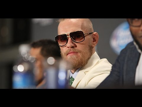 Conor McGregor Its All Fun and Games at the End of the Day UFC 178 Scrum