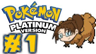 Let's Play: Pokémon Platinum DS! -- Episode 1 [WHICH STARTER?]