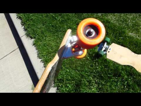 Spring Trucks Comparison and Test Ride. Seismic. Original. and Nuclear Pickle.