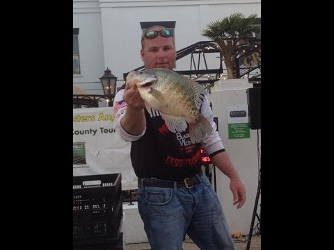 Crappie Fishing Lake Washington, MS CrappieMaster's Tournament, 3 1 2014