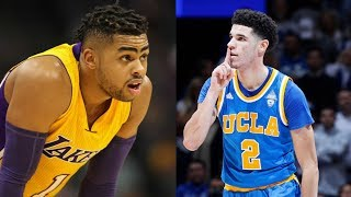 Download D'Angelo Russell Does NOT Want Lonzo Ball on the Lakers 3Gp Mp4
