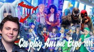 ???? ? ??????? ???????~Anime cosplay expo 2018~??????? ? ??????? ???????????????