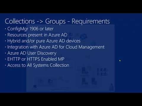 Video Tutorial: ConfigMgr cloud integration Part 12 – Collections and groups
