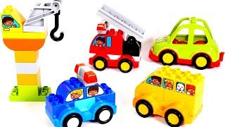 Making Toy Vehicles with Legos for Kids | Learn Colors with Yippee Toys