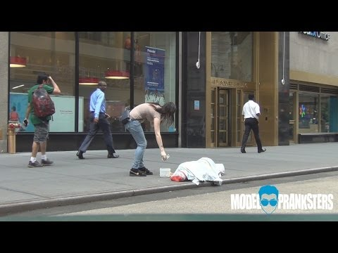 Stealing From The Homeless(Social Experiment)