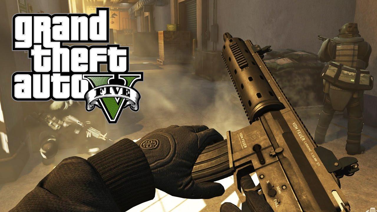 Gta 5 Xbox One Gameplay Gta 5 Fps Gameplay Trailer