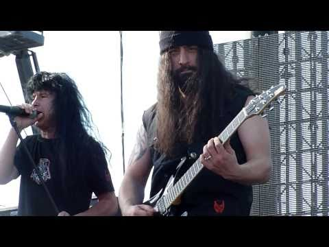Anthrax 5.&quot;Antisocial&quot; @ The Big 4 Indio CA. 4-23-2011