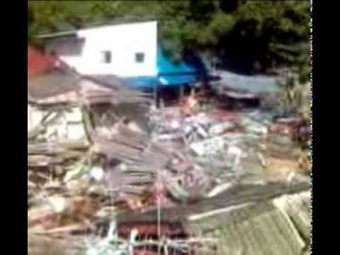 Tsunami video and pictures from Kata Beach Phuket
